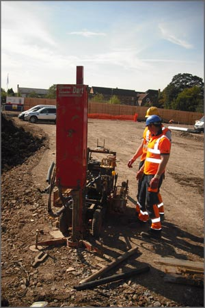 Installing Ground Gas Monitoring Stand Pipes